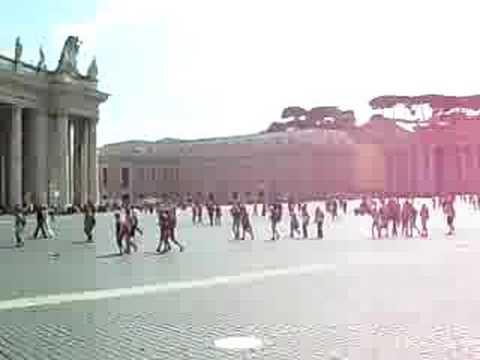 my vatican trip