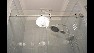 видео Перегородка для ванной комнаты