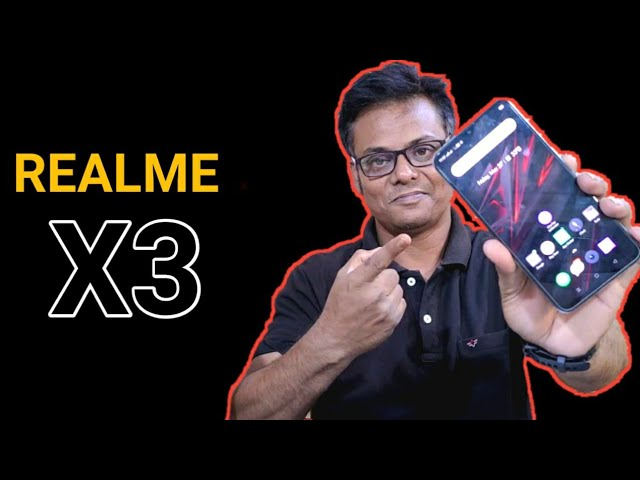 Realme X3 First Look Review Of Specs Realme X3 India Launch