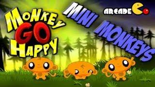 Monkey GO Happy Mini Monkeys Walkthrough HD