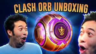 FIRST PLACE CLASH ORB OPENING!! CRAZY SKINS?! - League of Legends