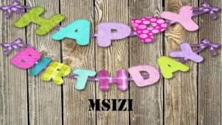 Msizi   Wishes & Mensajes