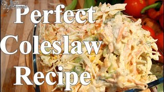 How To Make Perfect Coleslaw Recipe Crunchy Coleslaw | Chef Ricardo Cooking