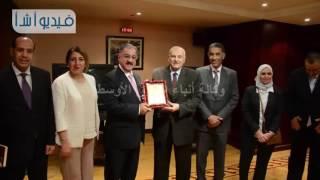بالفيديو: أ ش أ وجامعة البحرين الأهلية يتبادلان الدروع