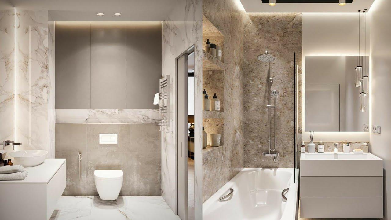 150 Modern Small Bathroom Design Ideas 2021 Home Decor Youtube