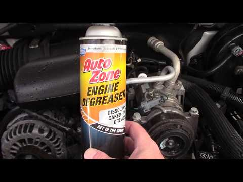 AutoZone Engine Degreaser Review - Boy This Was A Hard Review!