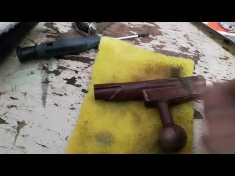 Copper plating a mosin bolt