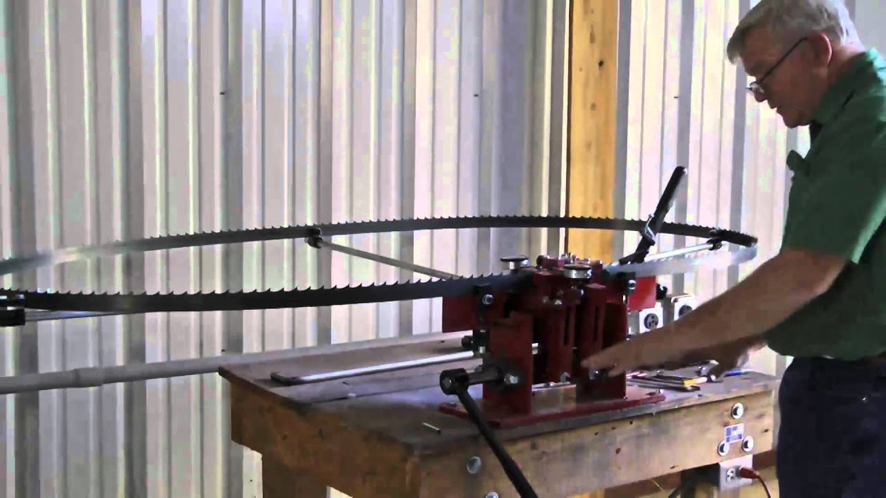 Cook S Saw Dual Tooth Bandsaw Blade Setter Youtube