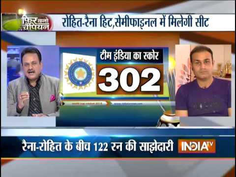 Phir Bano Champion: Rohit and Raina Rescue India to Set Bangladesh 303 to Win - India TV