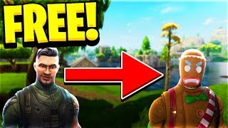 HOW TO GET MERRY MARAUDER SKIN FREE IN FORTNITE! (Gingerbread Man) *NOT CLICKBAIT*