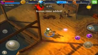 Gameplay de IPAD - Dungeon Hunter 3 - Free to play!