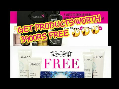 3900RS FREE PRODUCTS!! UNBOXING VANITY CASK BOX FOR JANUARY 2018//BEST NATURAL SKINCARE PRODUCTS
