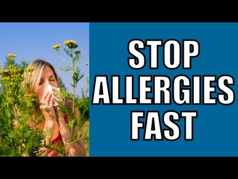 How to Cure Allergies FAST