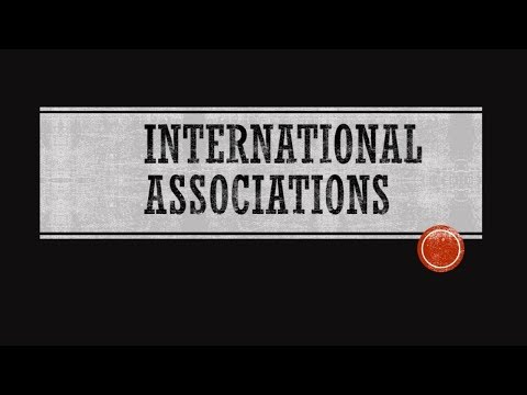 International  Library  Associations Part-I
