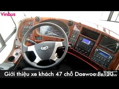 XE khách 47 chỗ Daewoo FX 120 (100% Hàn Quốc)