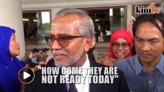 Shafee: When they charged Najib you would have thought they must be ready..
