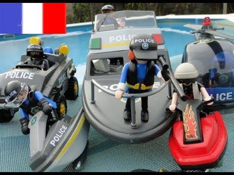 Playmobil pompier incendie au saloon by fontaine mathias - Caserne de police playmobil ...