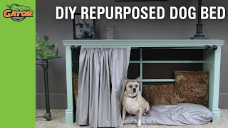 How to Make a Dog Bed from Old Furniture
