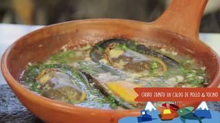 Recetas del Litoral Patagonia #4 Choro Zapato en Caldo de Pollo