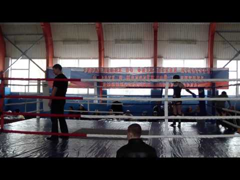 Чемпионат г. Орла по тайскому боксу 6-7 апреля 2013 г. Непп Кристина
