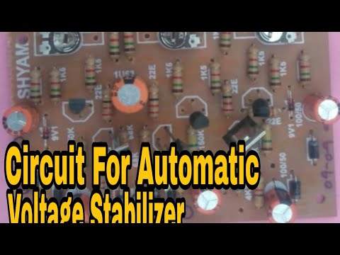 Hindi Circuit S For Automatic Voltage Stabilizer Electric N