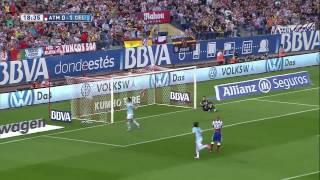 Atletico Madrid - Celta Vigo - Pablo Hernandez'den sıradışı topuk golü!