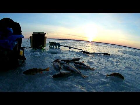 моя первая рыбалка на озере