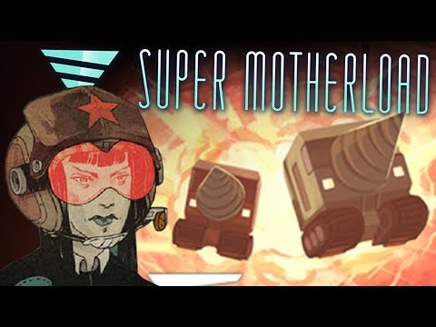 Deep Mining on Mars! - Super Motherload Gameplay Part 1