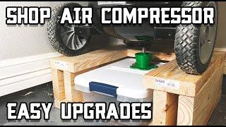 How to Upgrade Your Shop Air Compressor