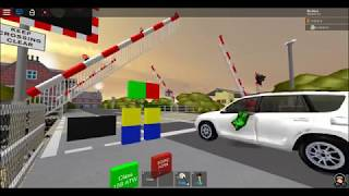 ROBLOX - Woodshire Level Crossing ft. tomicat16 (Arriva Class 158 Passes!)