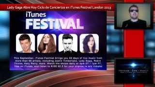 Lady Gaga Abre el iTunes Festival London 2013 Con Su Album ARTPOP thumbnail