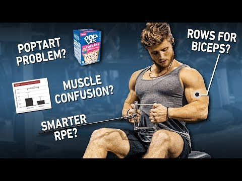 The Best Ways To Use RPE For Gains? Processed Foods Bad? Rows Good For Biceps? Muscle Confusion? IF?