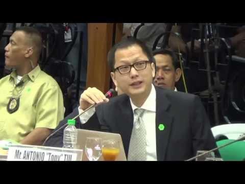 Antonio Tiu gave permission to Trillanes in Senate hearing for inspection of 'Hacienda Binay'