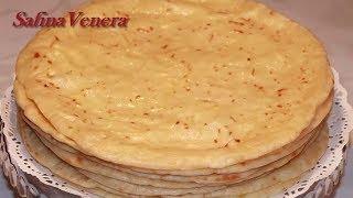 ХЫЧИН. Лепешки Хычины с картошкой и сыром. Хычины Быстрый, вкусный рецепт.