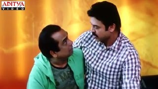 Venkatesh And Brahmanandam Hilarious Comedy Scenes In Rakhwala Pyar Ka Hindi Movie