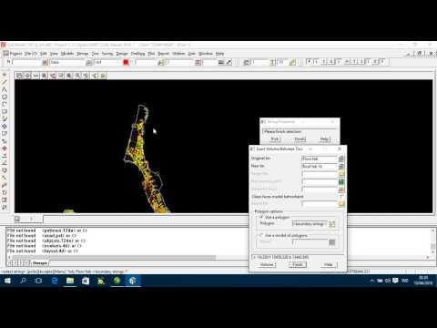 Perhitungan Luas dan Volume secara Limit Batubara dengan Software 12d Model 7 ~Khairi Ramdhani