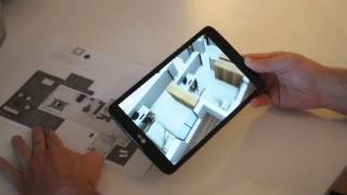 Augmented Reality (AR) Grundriss
