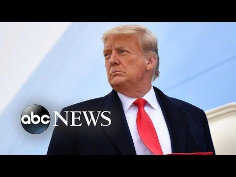 Trump names first lawyer for impeachment hearing as McConnell seeks delay in trial l GMA