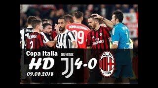 ФИНАЛ КУБКА ИТАЛИИ ОБЗОР МАТЧА Ювентус 4:0 Милан / ГОЛЫ МАТЧА / Juventus AC Milan 09.05.2018