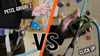 Click Up Vs GriGri - Battle Of The Belay Devices | Climbing Daily Ep.1143
