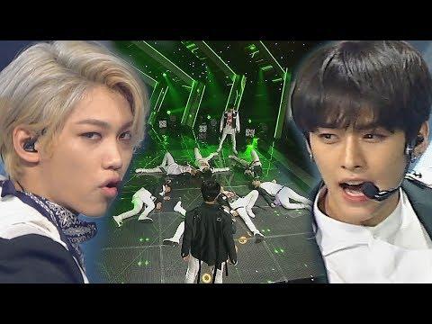 《POWERFUL》 Stray Kids(스트레이 키즈) - Mirror(미러) @인기가요 Inkigayo 20180506