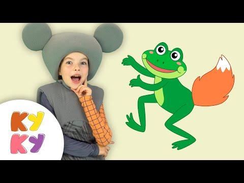 КУДА ПРОПАЛ ХВОСТ - Кукутики - Песня мультфильм где умный лягушонок и другие животные