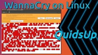 WannaCry on Linux. Oh It Escaped Wine
