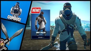 SHOT CALLER Skin and METRO MACHETES Tool in Fortnite! Before You Buy