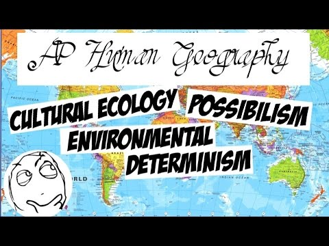 Environmental determinism and possibilism