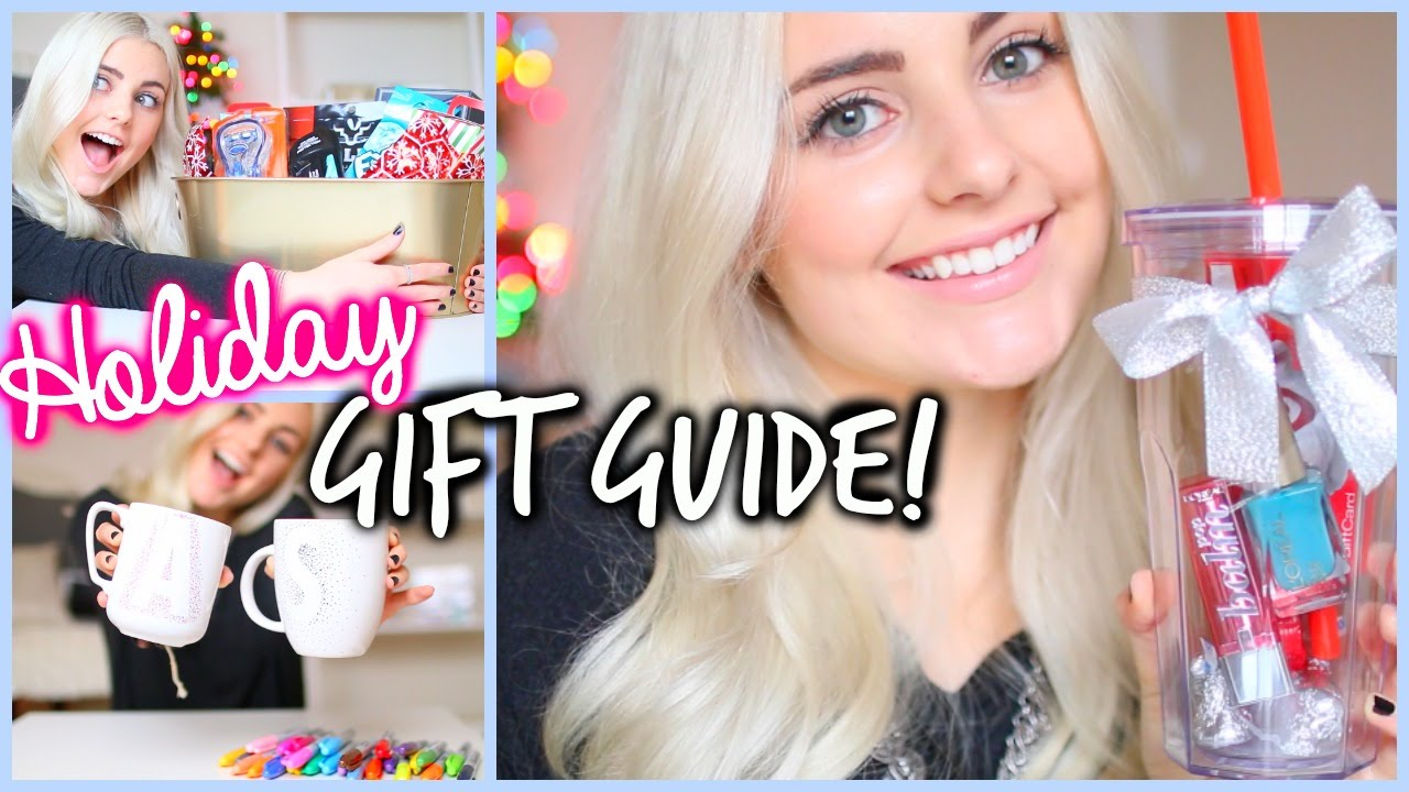 holiday gift guide for friends boyfriends diy gift ideas