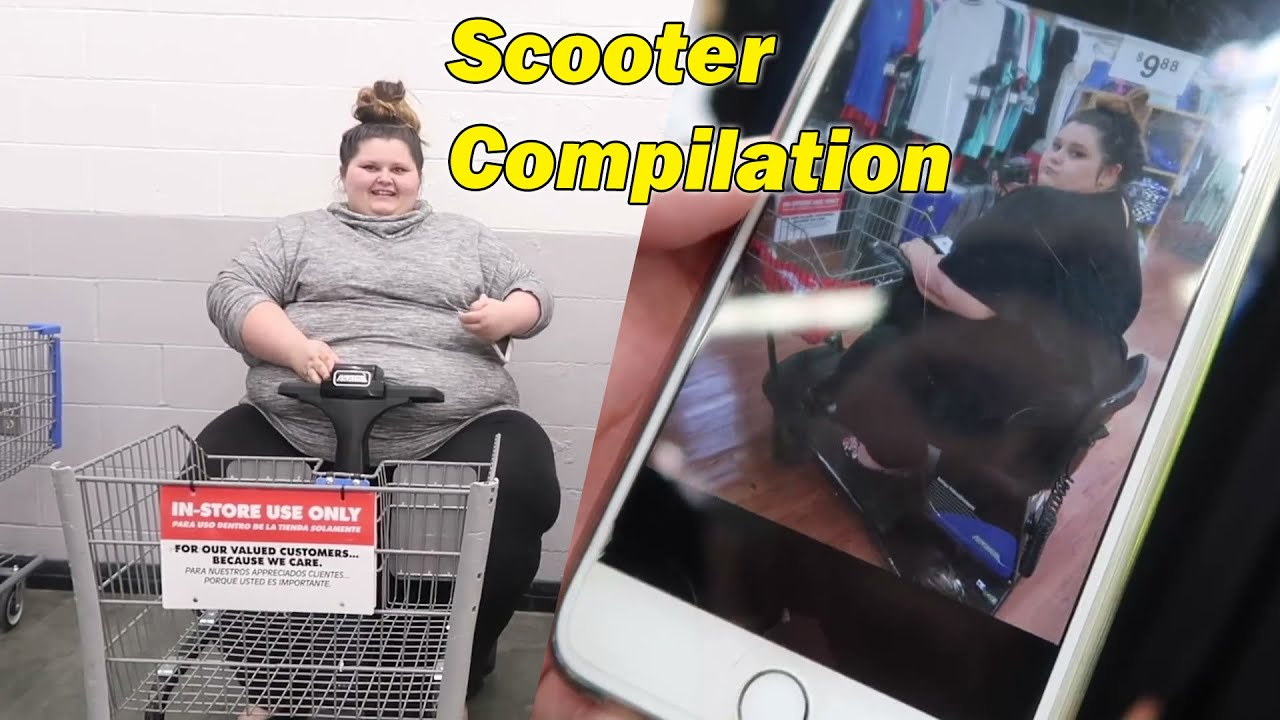 Amberlynn Reid Using Scooters Compilation