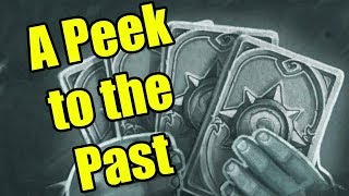 Hearthstone Tavern Brawl: A Peek to the Past