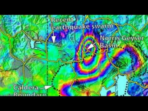 Yellowstone Supervolcano: Earthquake Swarm, New Map Shows Ground Deformation