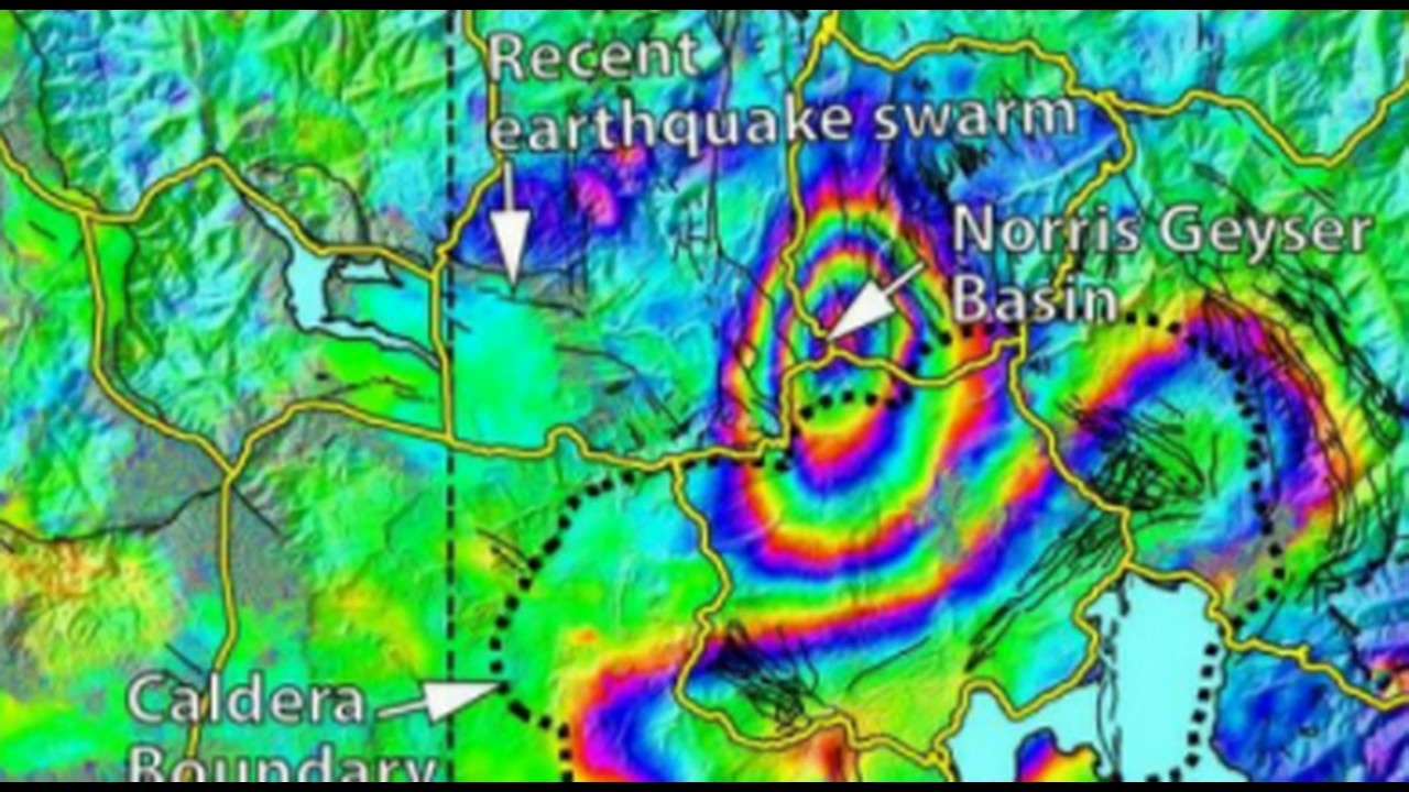 Yellowstone Supervolcano Earthquake Swarm New Map Shows Ground